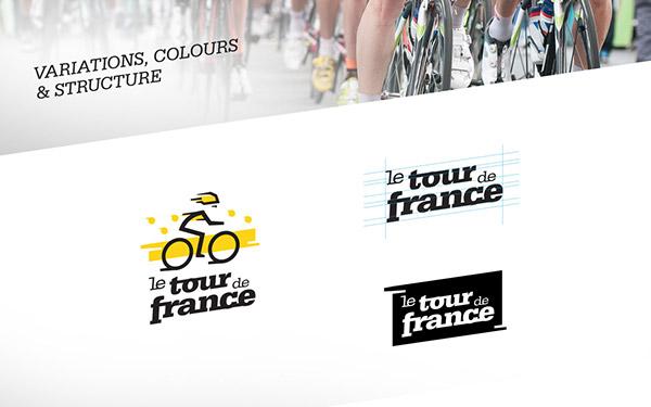 Le Tour De France Logo Redesign Concept On Behance