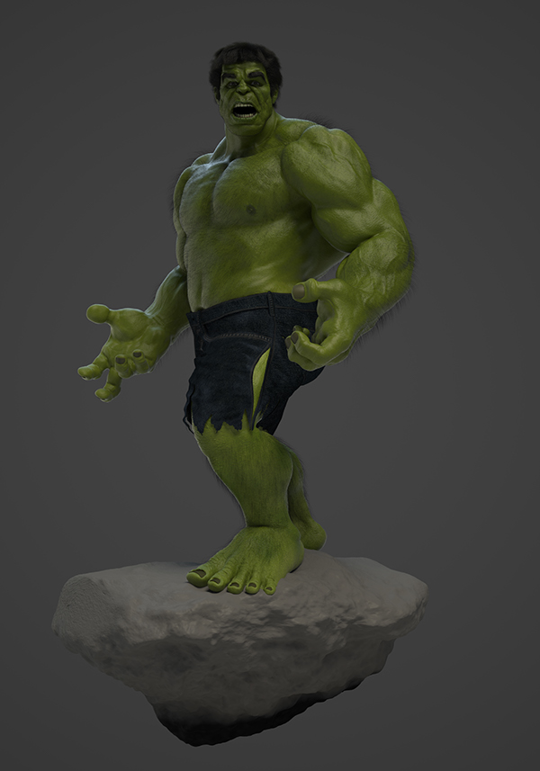 The Incredible Hulk WIP on Behance