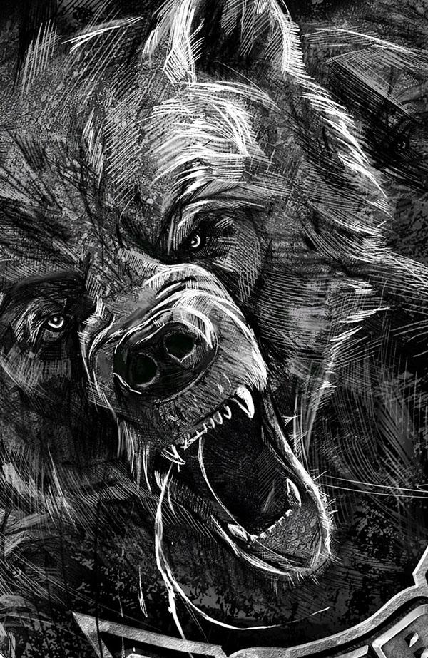 Roaring Lion Profile Tattoo Боевая русь ...