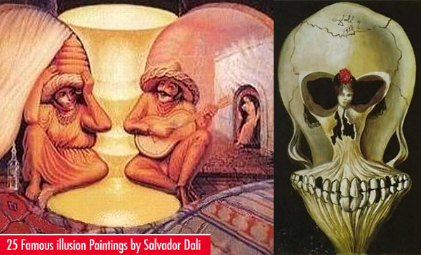 25 Famous Salvador Dali Paintings - Surreal and Optical on Behance