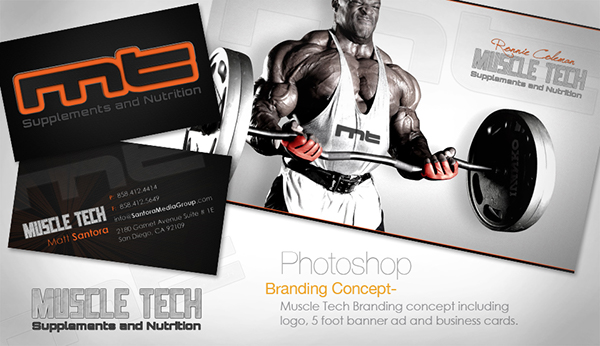 Business Cards banner sports logo