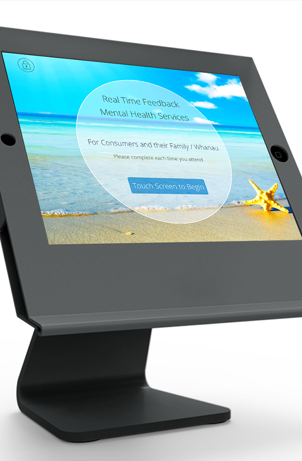 UI ux iPad software survey design