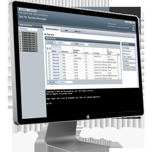 N1 enterprise server console