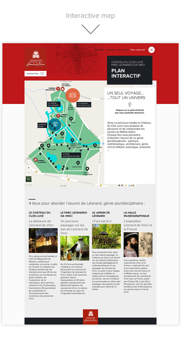 Parc Leonard De Vinci On Behance