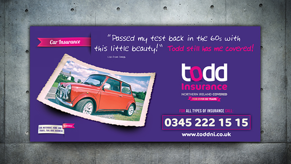 Todd Insurance Brand Awareness Campaign On Behance