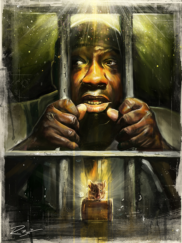 a theme of compassion and sacrifice in the green mile by stephen king