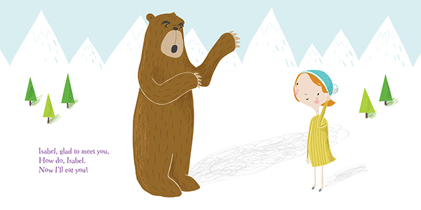The Adventures Of Isabel On Behance