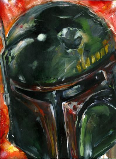 acrylic portrait yoda jedi star wars disney Empire Strikes Back skywalker boba fett bounty hunter Wookie Chewbacca