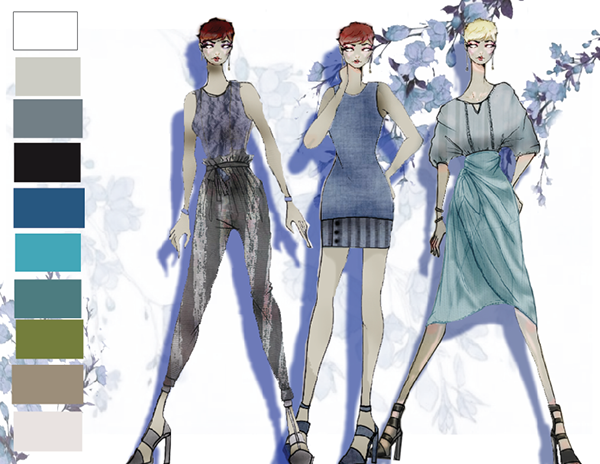 Fashion Design Inspiration Board