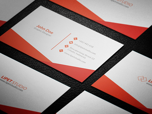 Simple Business Card Template Free