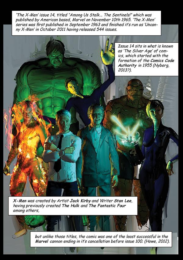 comics museum essay Graphic Novel x-men Stan Lee sentinels