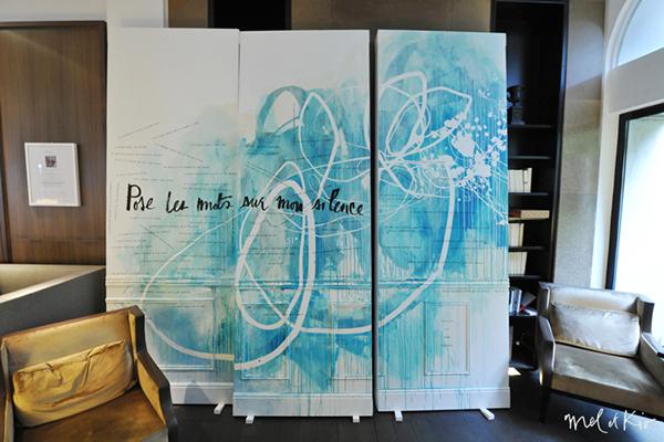 ddays D-Day mel et kio wall design design participatif design mural