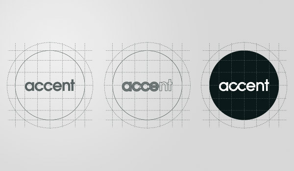 accent creative accent San Diego CA California Los Angeles Album art cover dj moog electronic Miguel Vega designer corporate guides clean minimal Business Cards translucent frosted plastic