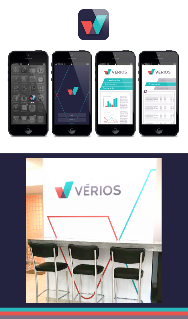 visual identity ID Rebrand comparison Investment Transparency truth logo brand positioning Wise diagonal colors