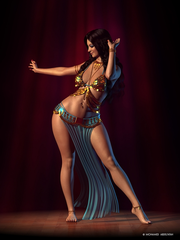 Egyptian and turkish belly dancing