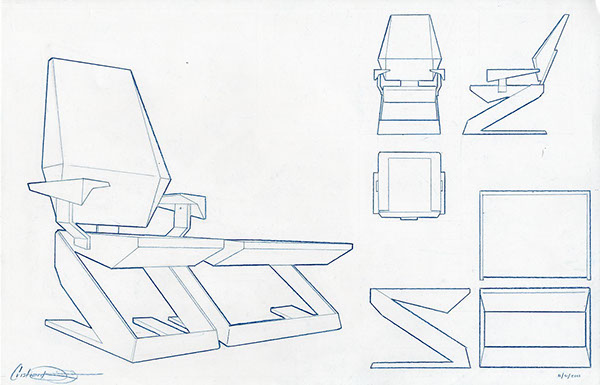 Chair Design Drawings For a Final Drawing Due to