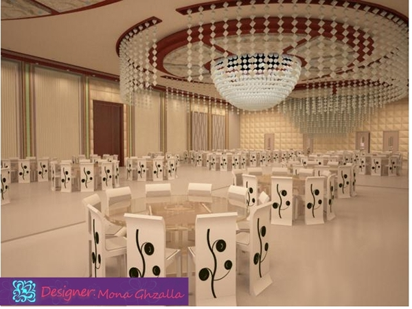 Wedding hall design on behance for Wedding hall design