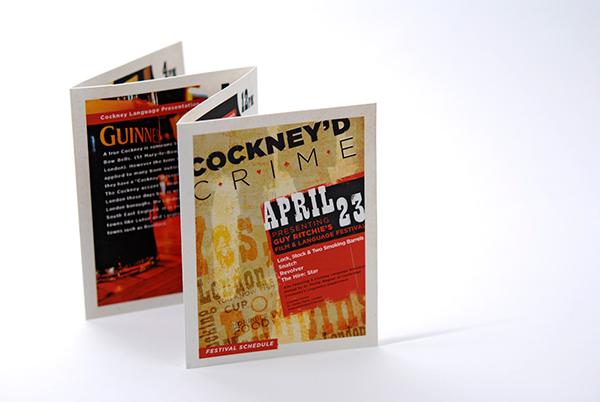 Guy Ritchie film festival cockney british gangster movie poster DVD book Whiskey typeography sound track movie ticket scotch shotgun
