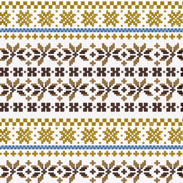 Fair Isle Patterns For Knitting : Fair Isle Patterns on Behance