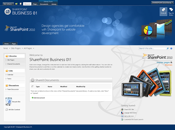 sharepoint designs on behance