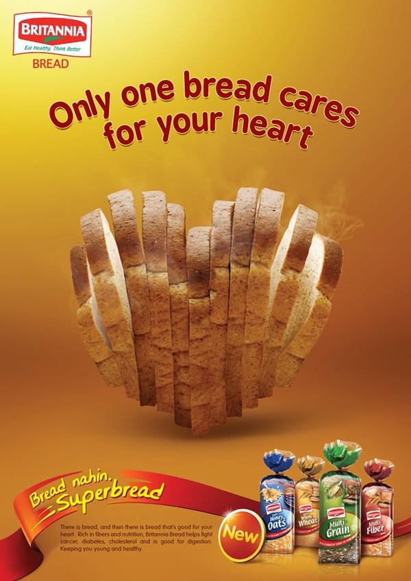 Britannia Healthy Bread on Behance