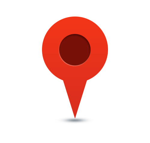 Site Map Icon: Location, Map Pin Icon On Behance