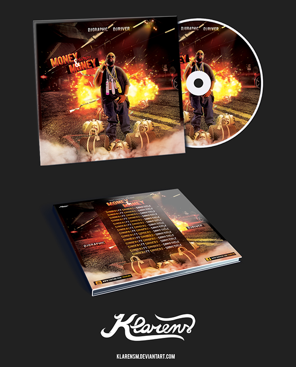 hip hop mixtape album cd cover free psd template on behance