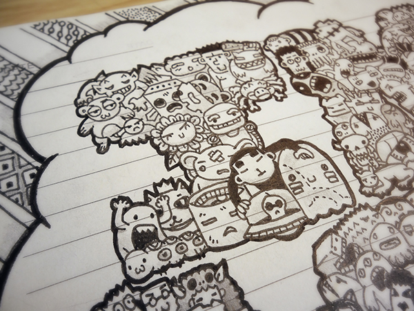 2011-2012 DOODLES Batch 2 : Made Out of Monsters on Behance