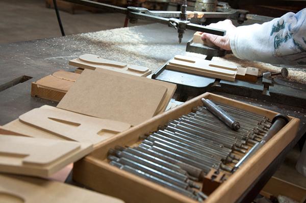 letterpress wood type berlin fonts type