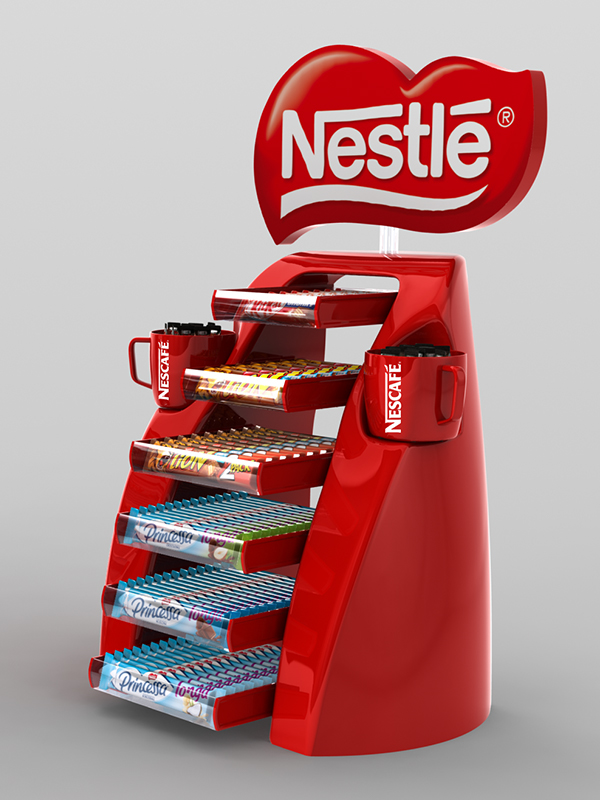 Nestle Pos Materials On Behance