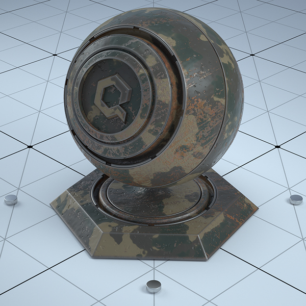 Free C4d Octane Materials on Wacom Gallery