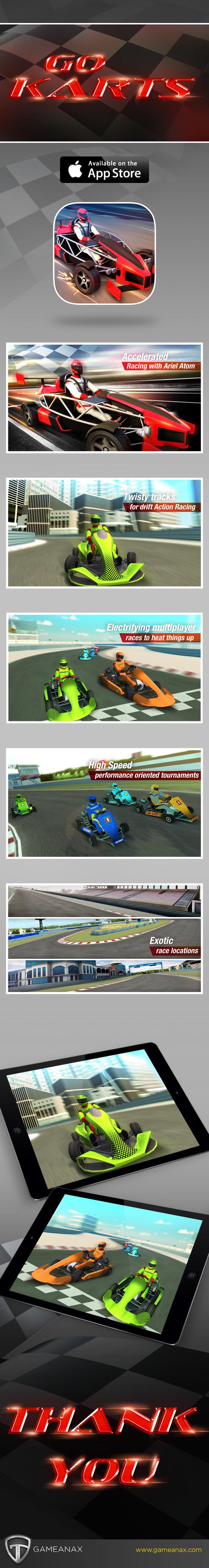 Racing Game go karts UI ux graphics visual fx motion graphic game mobile game mobile gaming Games