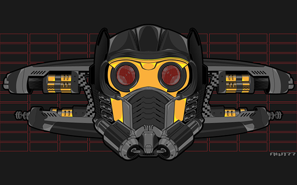 Free Wallpaper Star Lord Guardians Of The Galaxy On Behance