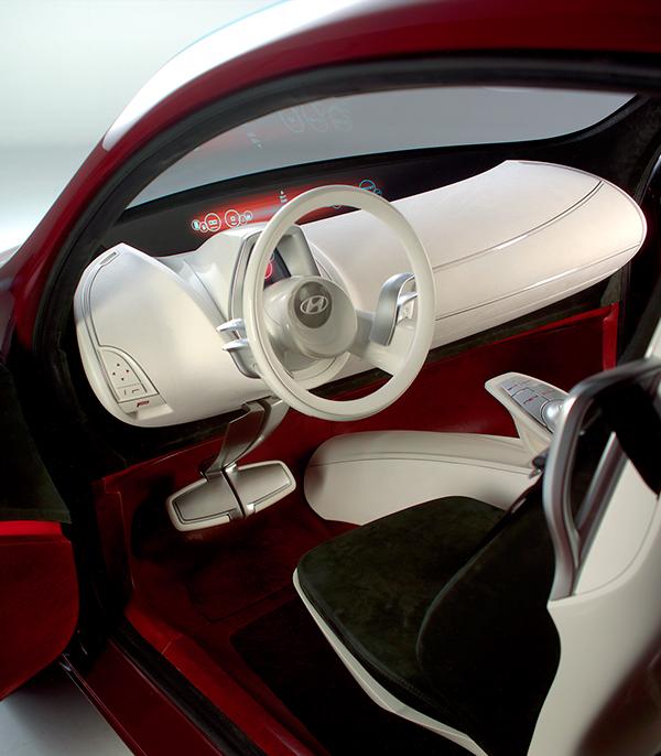 Hyundai Hed 1 Show Car Interior Geneva 2005 On Behance