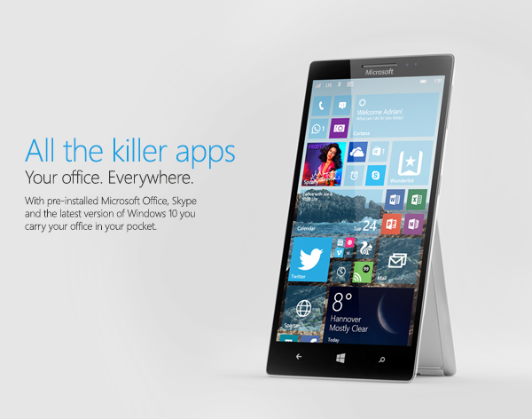 Microsoft windows 10 windows windows phone smartphone industrial concept 3D surface ios android