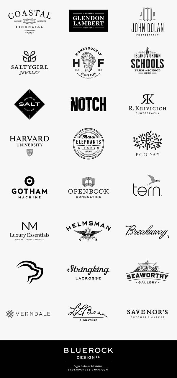 Bluerock Design Logos No. 1 on RISD Portfolios