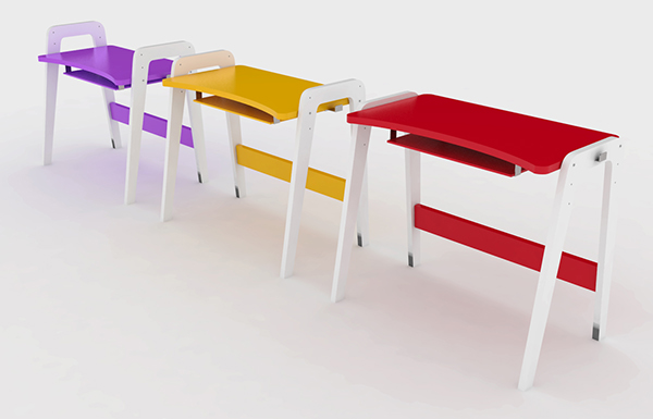 Primary school furniture on behance for Furniture 4 schools