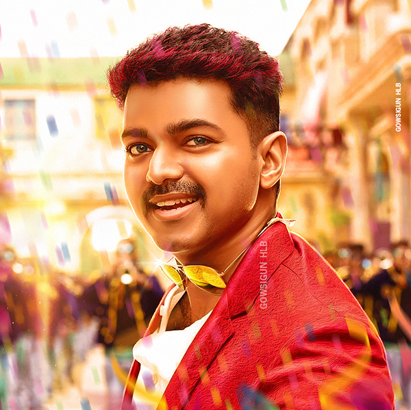 Actor Vijay Retouch On Student Show