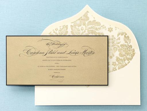 Checkerboard Wedding Invitations: BRIDES Fine Wedding Papers On Behance