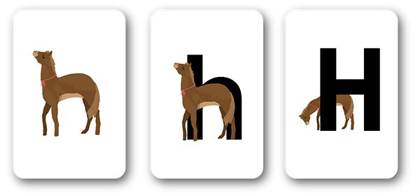 image regarding Zoo Phonics Alphabet Cards Printable referred to as Zoo Phonics Redesign upon Behance
