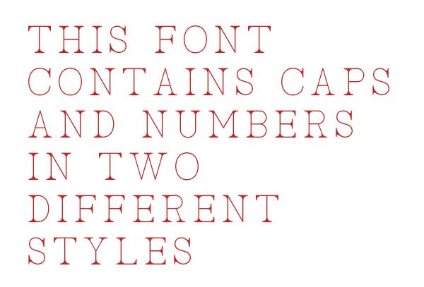 free font Typeface roman elegant Display serif