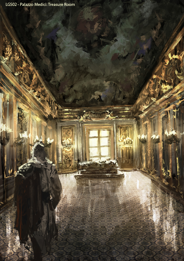White Drawing Room Assassin S Creed