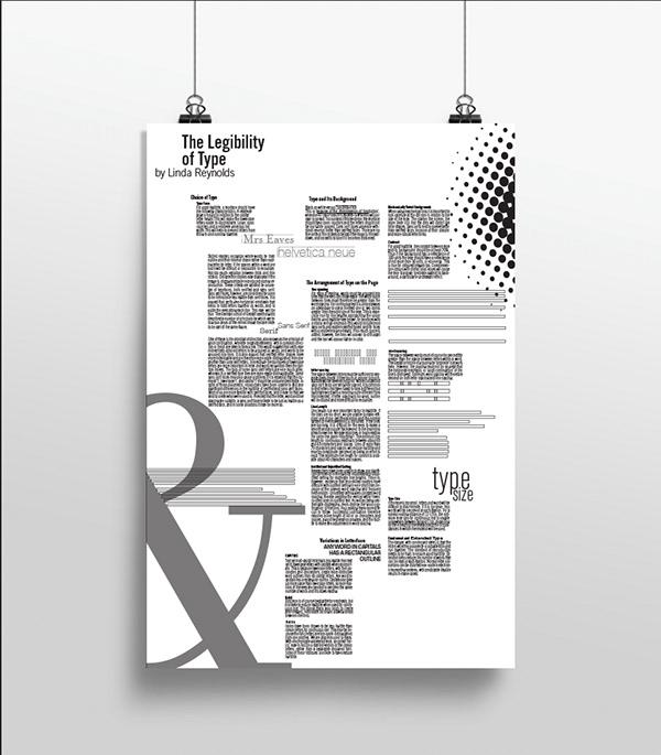 優質的34套海報排版欣賞