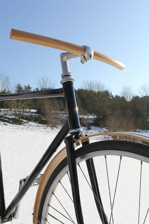 Curved Wood Handlebar On Behance