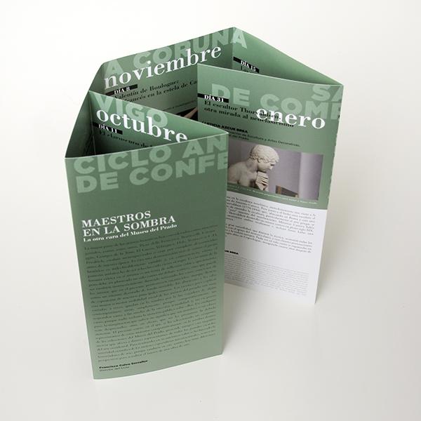 campaña de comunicación folleto