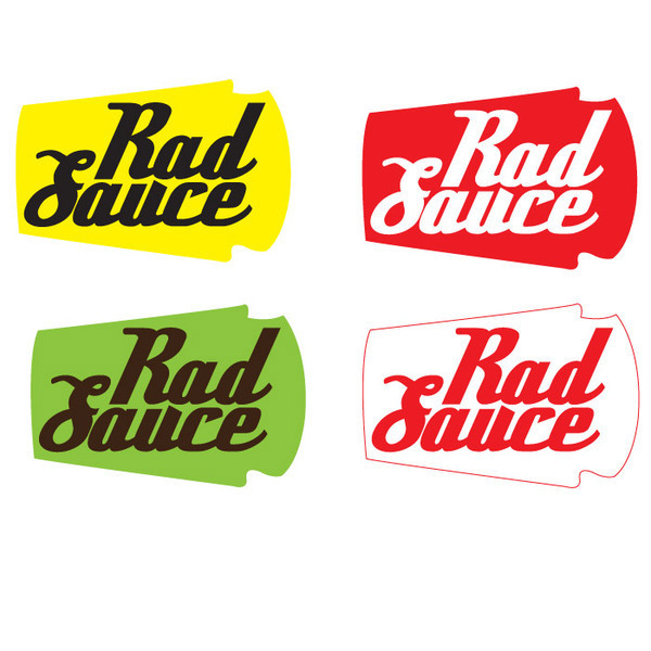 Sauce Logo Rad Sauce Blog Logo on