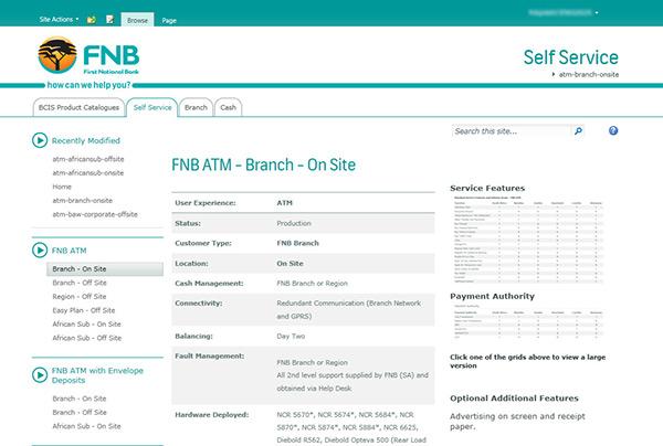 fnb sharepoint 2010 themes on behance
