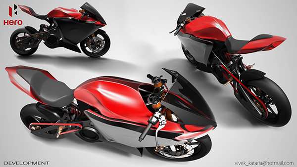 Hero Electric Superbike For 2020 On Behance