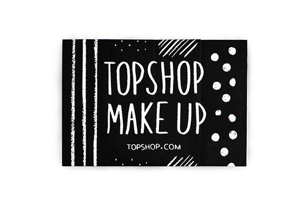 Topshop Make Up Catalog on Student Show
