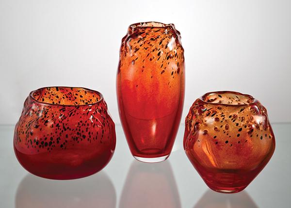 Decoração peça decorativa vidro artístico vidro glass
